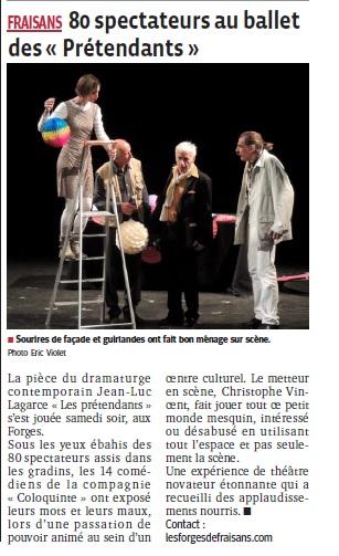 Le Progr-s du 20 10 2014 - Les Forges